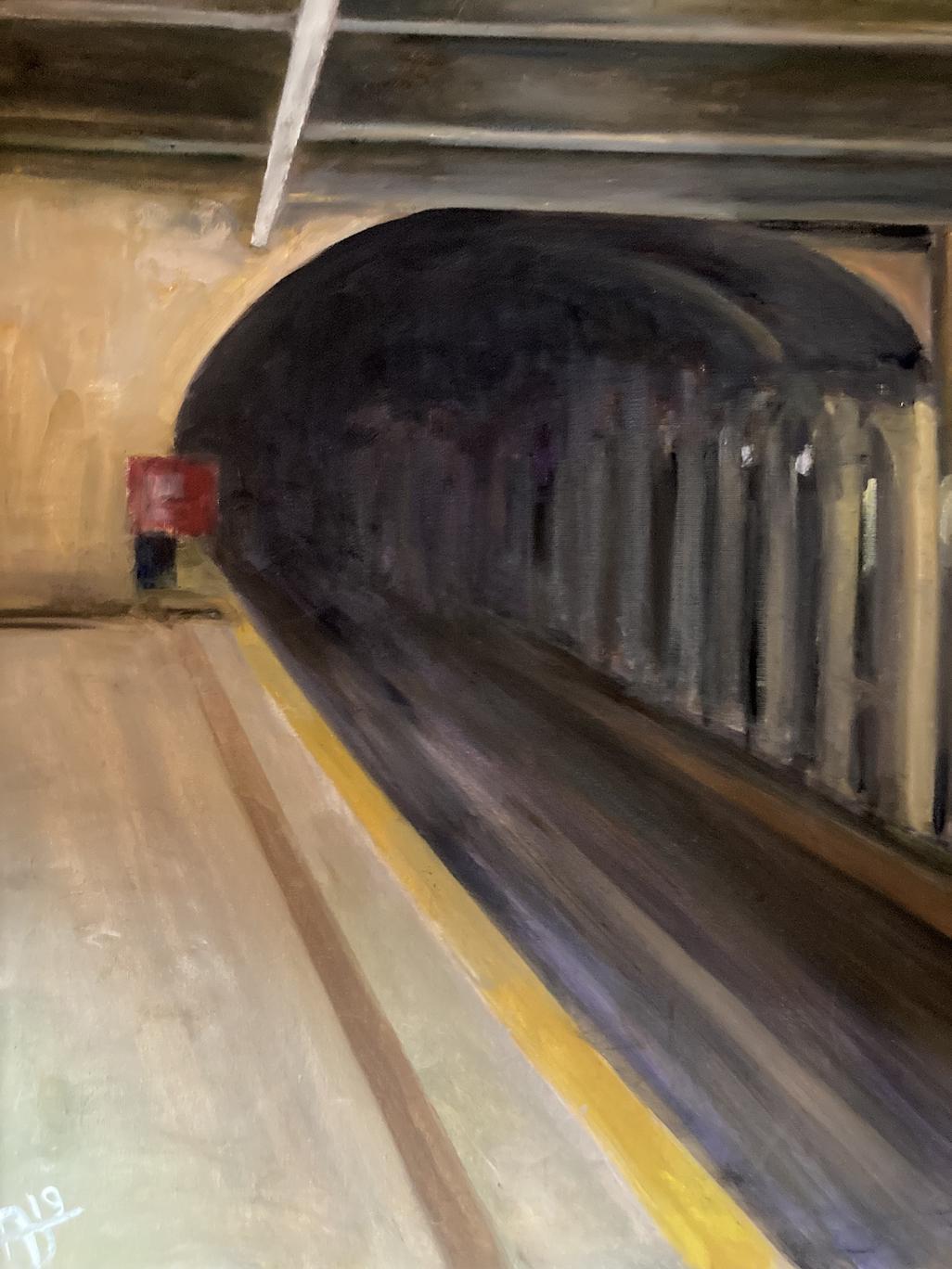 Alexandra Dell'Amore: Subway Tunnel