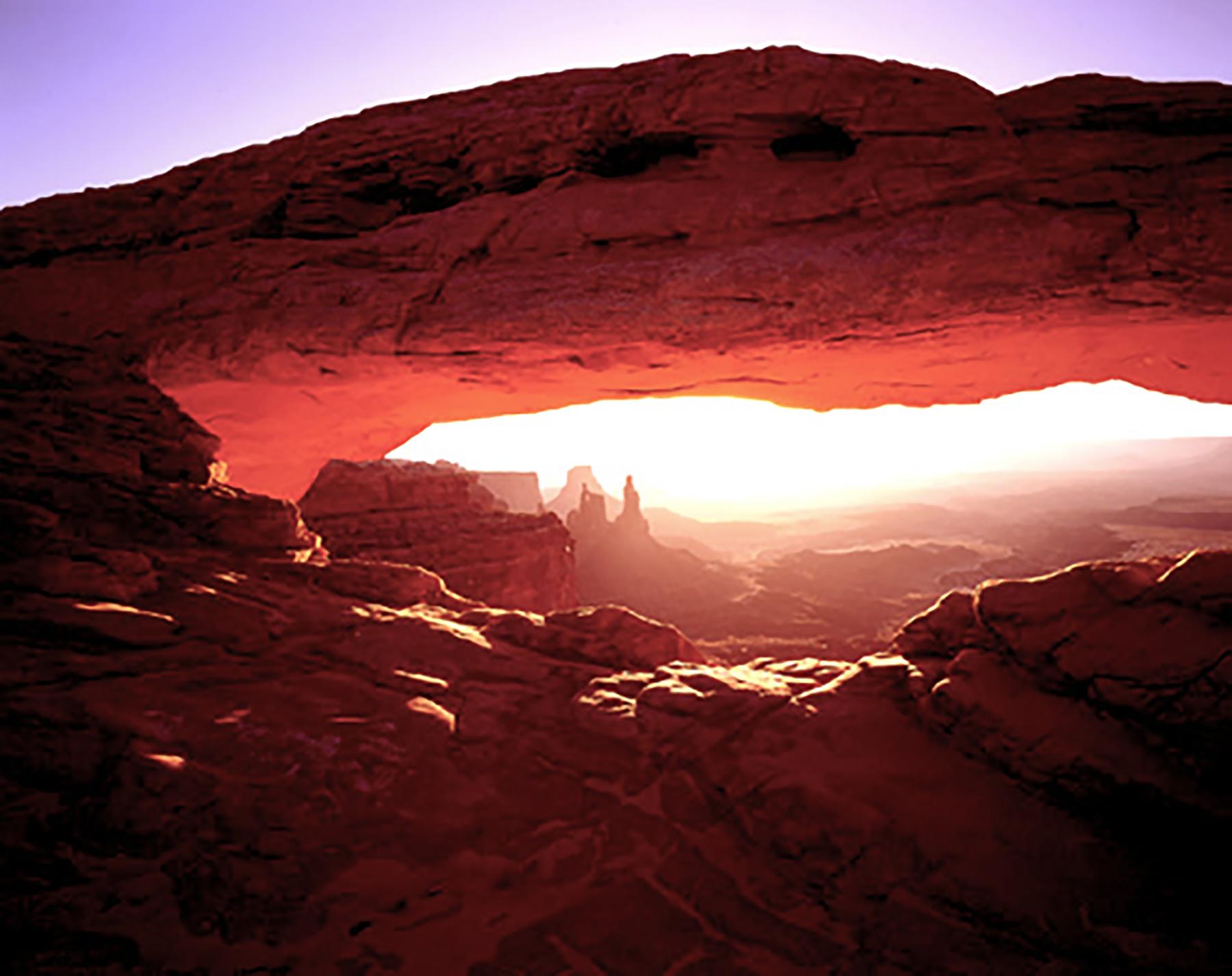 Glenn Hohnstreiter: Sunrise Arch