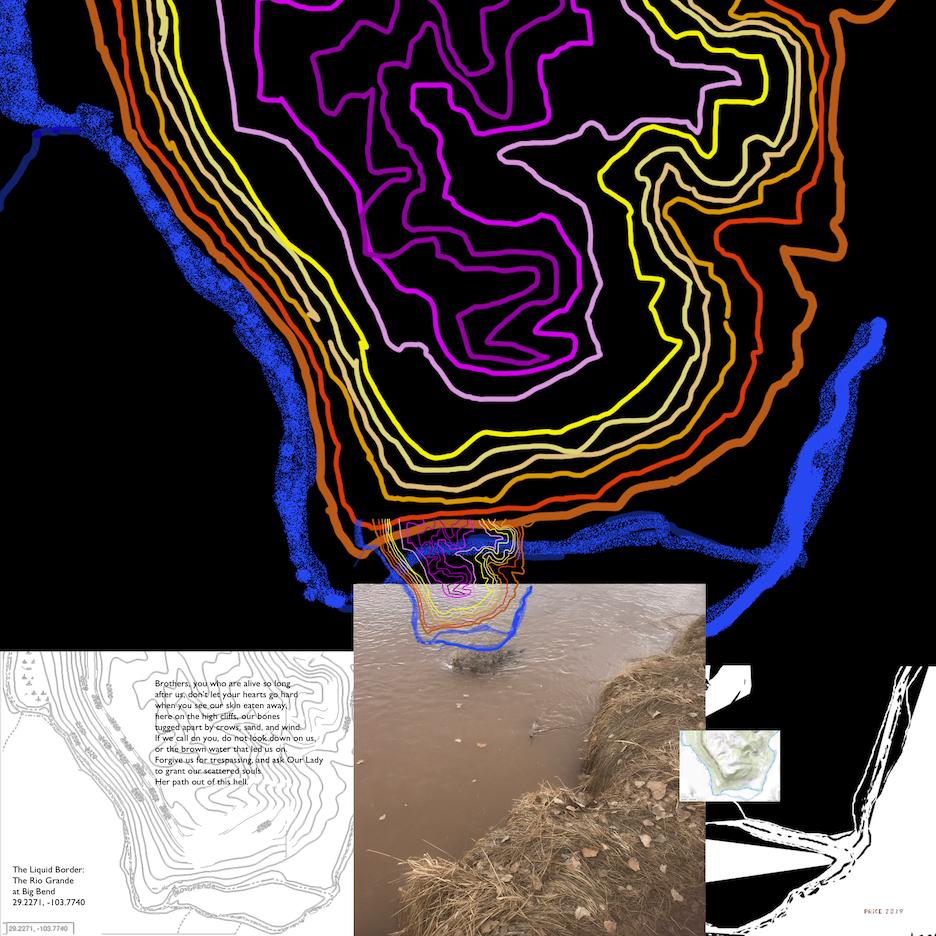 Jonathan Reeve Price: The Liquid Border; Big Bend