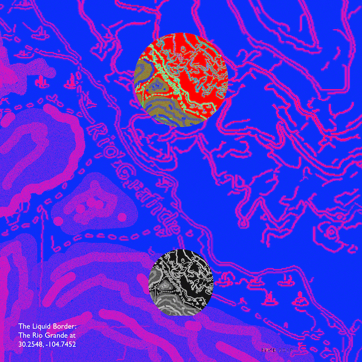 Jonathan Reeve Price: The Liquid Border; Blue Arroyo