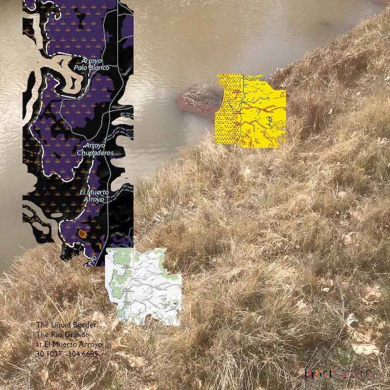 Jonathan Reeve Price: The Liquid Border; El Muerto Arroyo