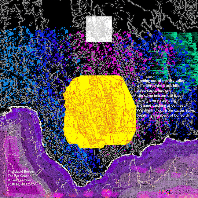 Jonathan Reeve Price: The Liquid Border; Goat Canyon