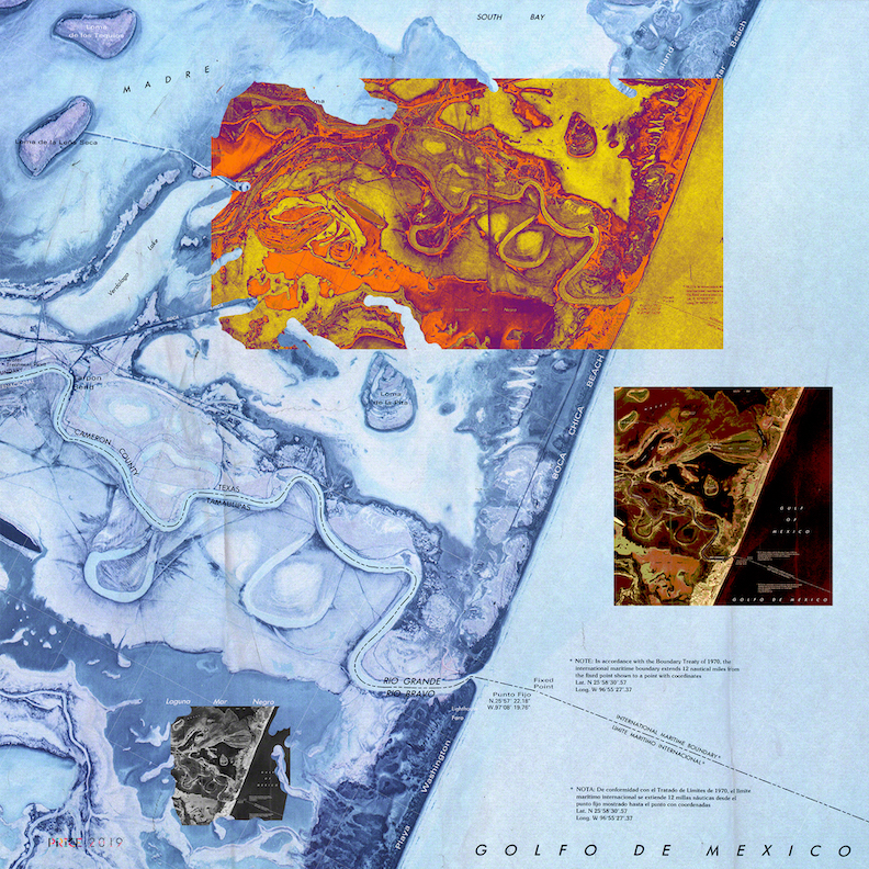 Jonathan Reeve Price: The Liquid Border; Mouth of the Rio Grande