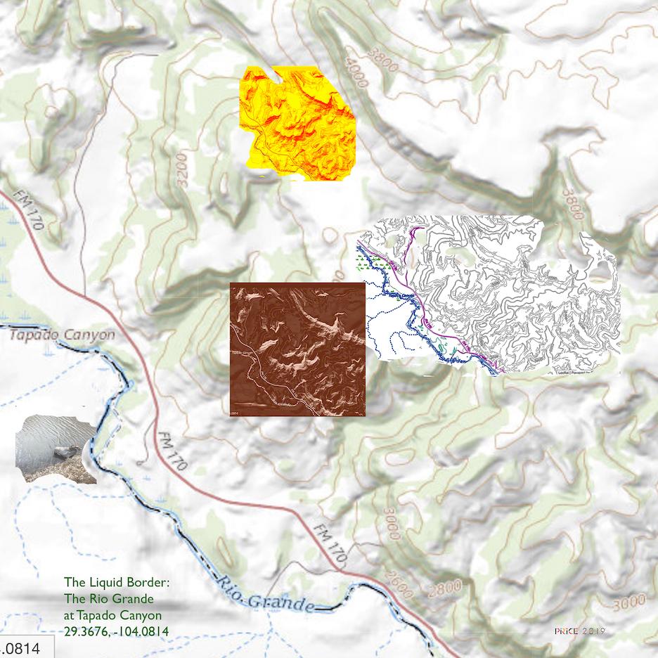 Jonathan Reeve Price: The Liquid Border; Tapado Canyon