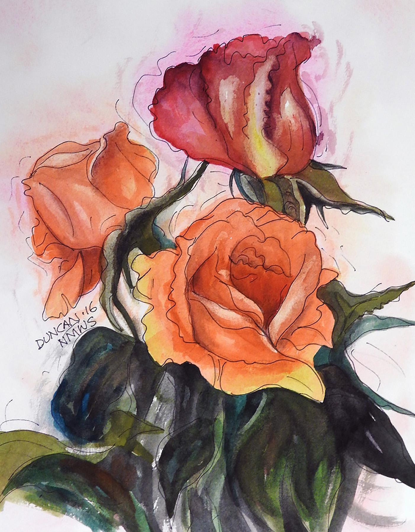 Woody Duncan: Three Roses
