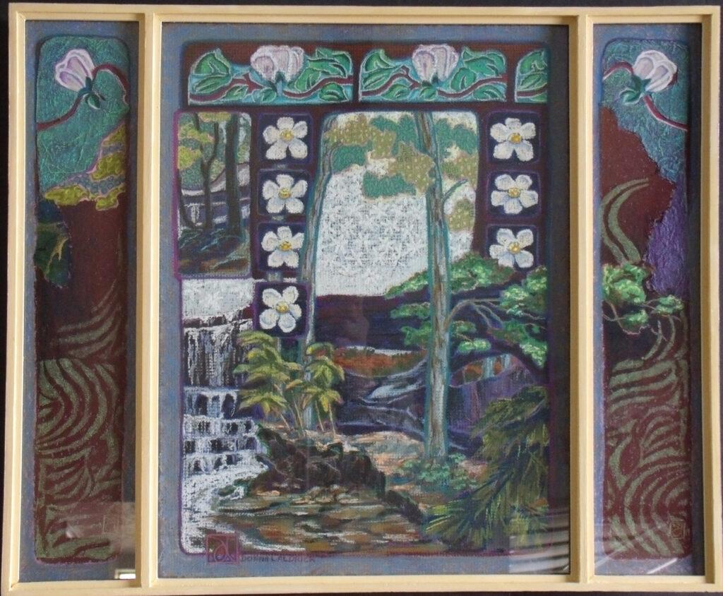 Donna L. Aldrich: Tiled Forest Two