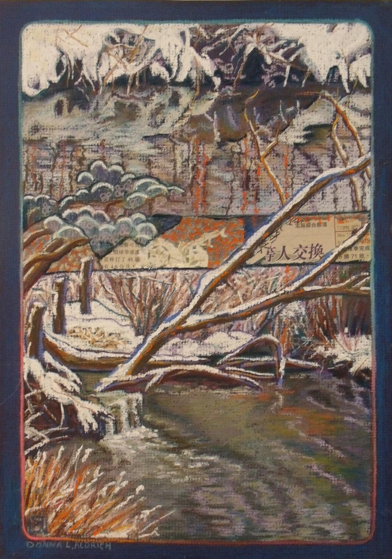 Donna L. Aldrich: Winter's Edge