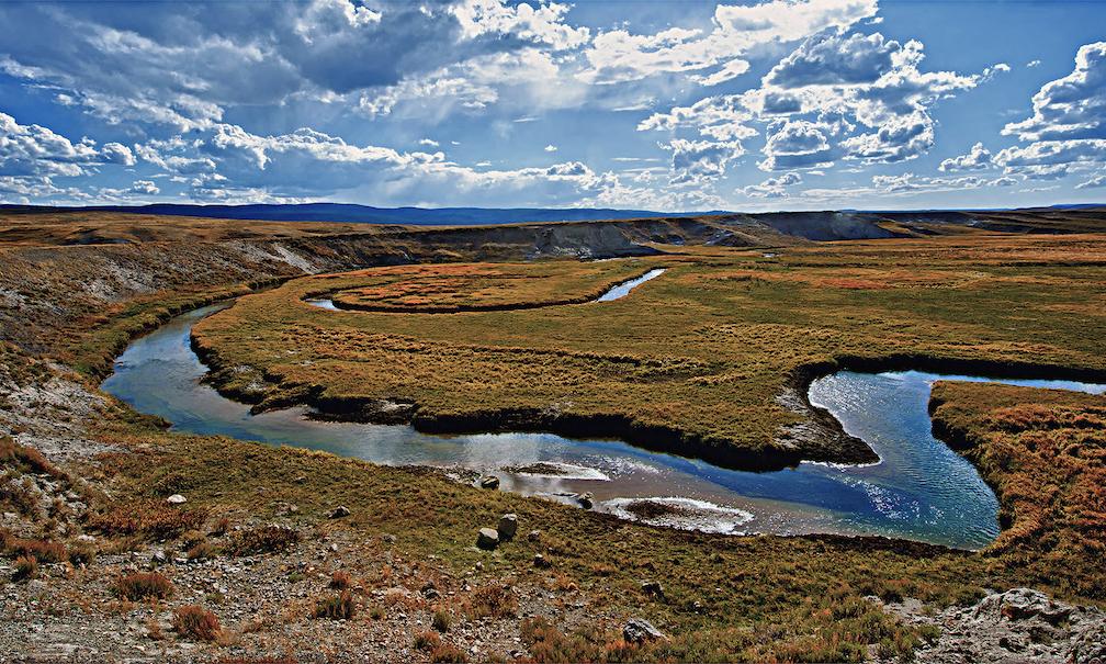 Glenn Hohnstreiter: Yellowstone Stream