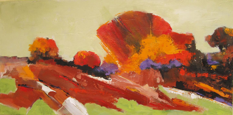 Ann Hart Marquis - A Rusty Crimson