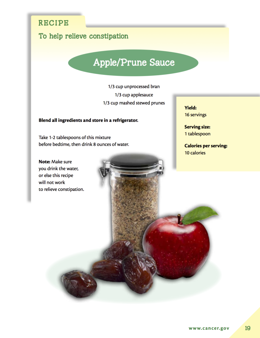 Apple/Prune Sauce