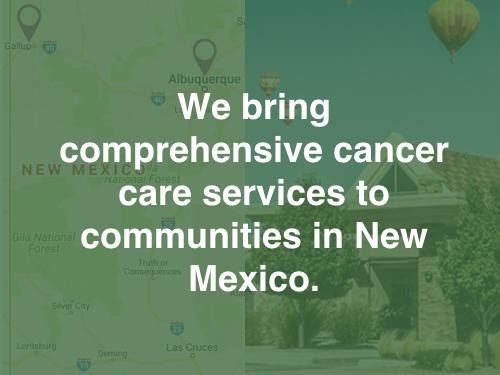 New mexico cancer center gallup